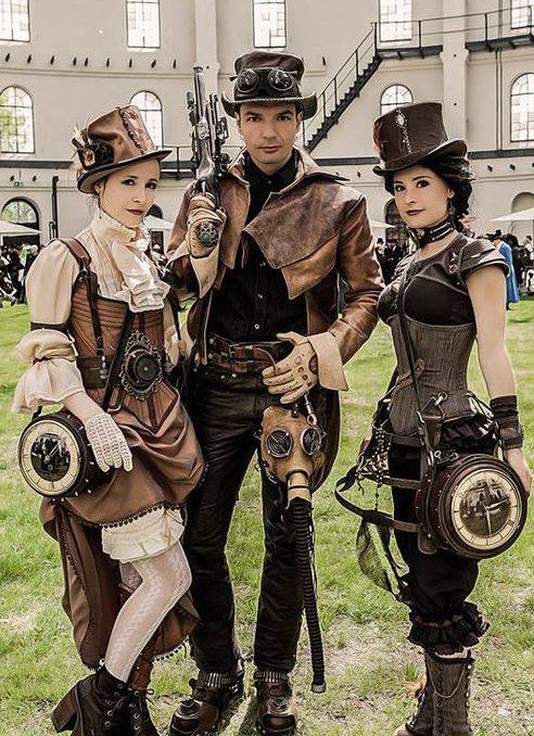disfraces steampunk festival