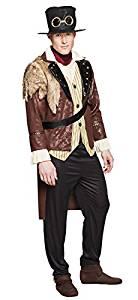 comprar disfraz de capitán steampunk por amazon