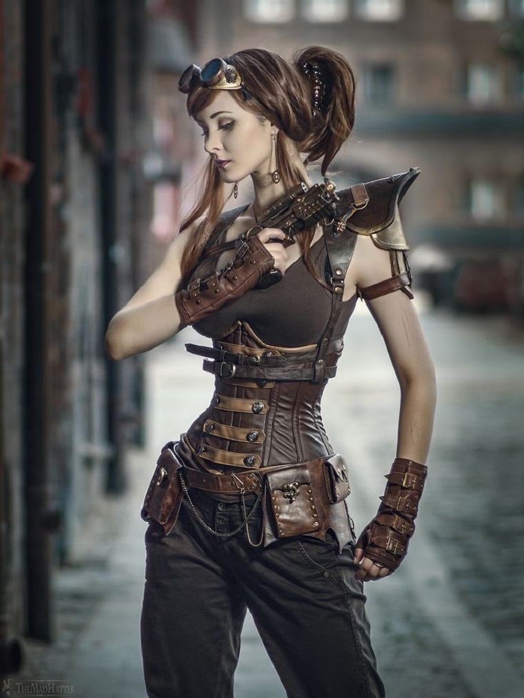 disfraz para mujer tendencia steampunk