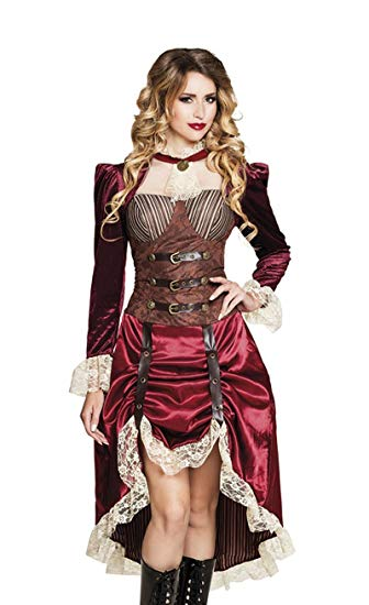 disfraz capitana steampunk comprar amazon