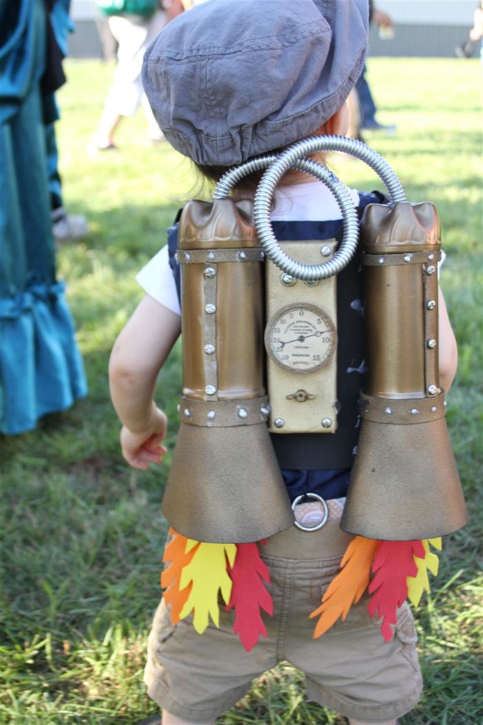 accesorio disfraz steampunk para niños