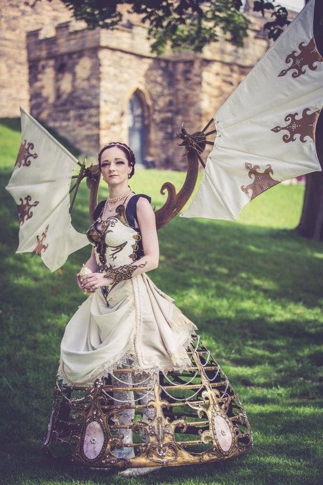 disfraz steampunk mujer original