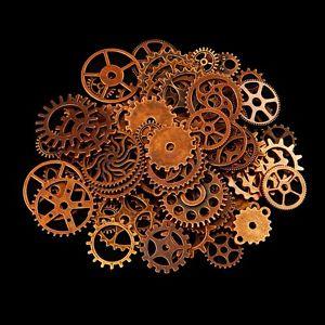 engranajes steampunk bronce