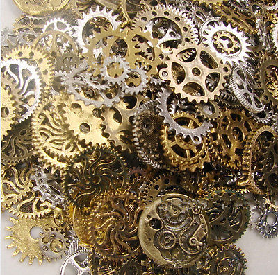 engranajes para decorar steampunk