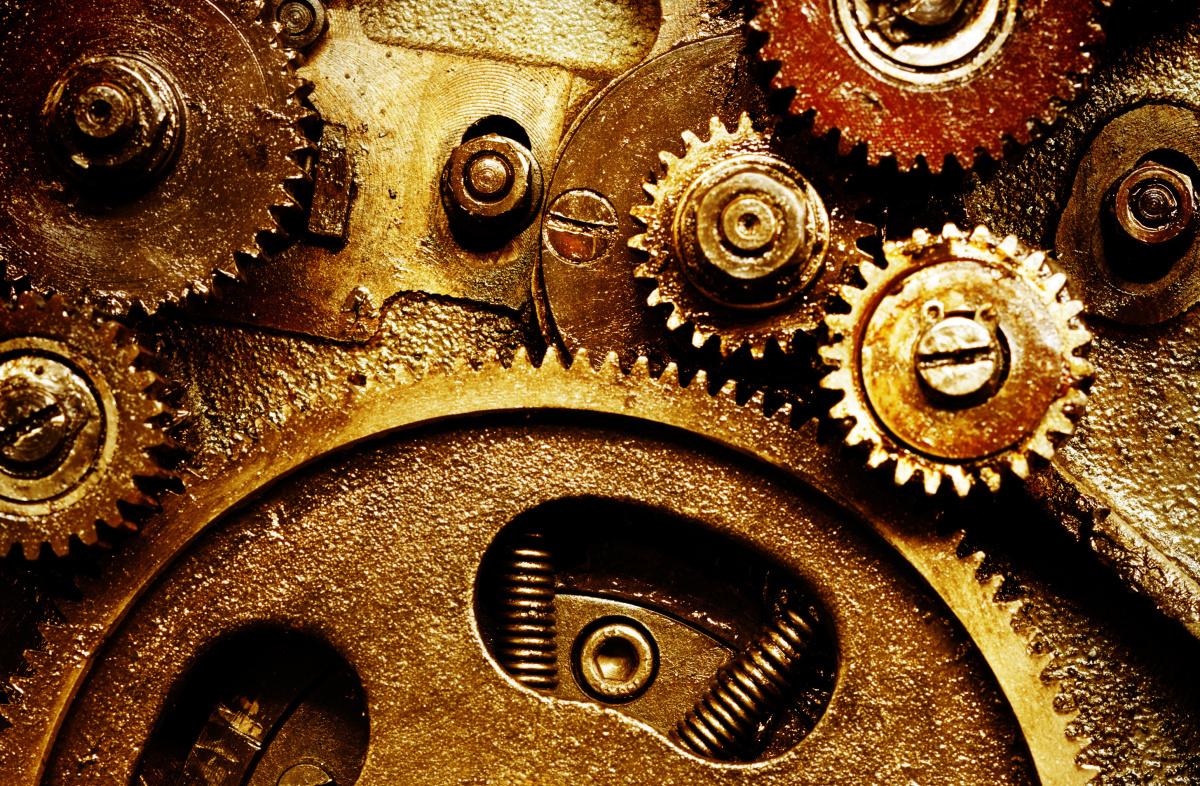 engranajes steampunk uso