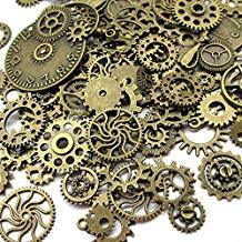comprar 100 gr engranajes steampunk amazon