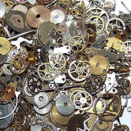 piezas engranajes steampunk