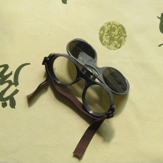doble montura gafas steampunk