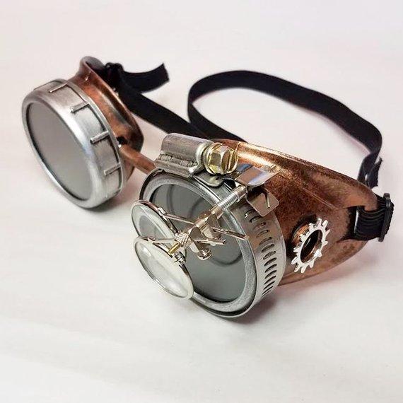 gafas steampunk modelo original