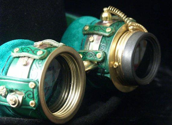 gafas steampunk estilo