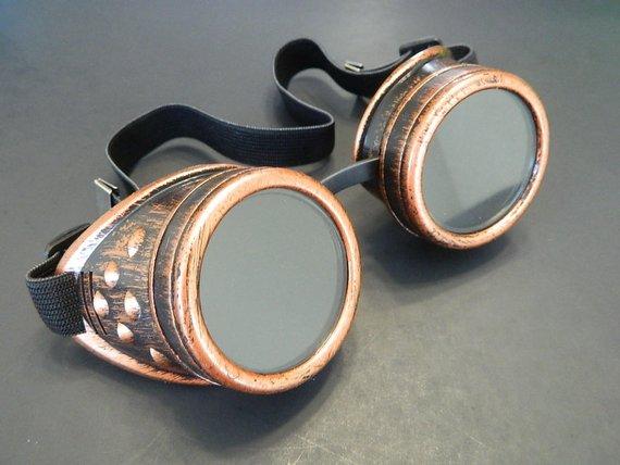gafas steampunk originales