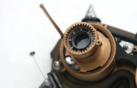 colocar piezas gafas steampunk