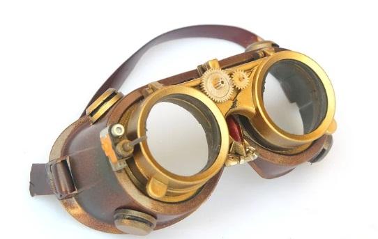 gafas steampunk producto casero