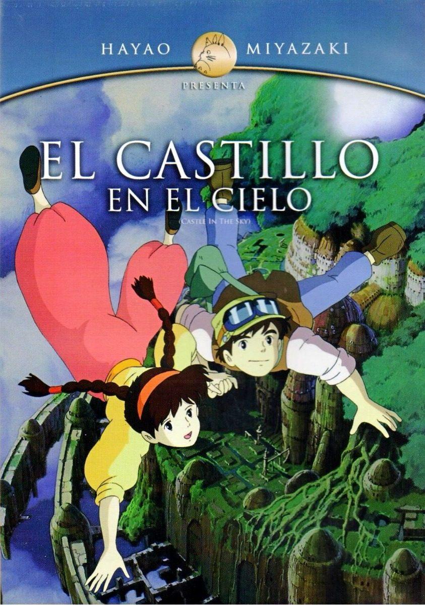 póster película steampunk el castillo en el cielo