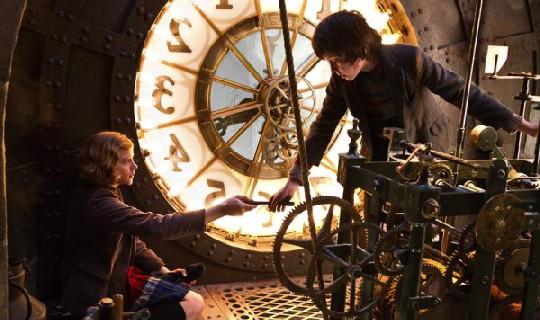escena película steampunk hugo