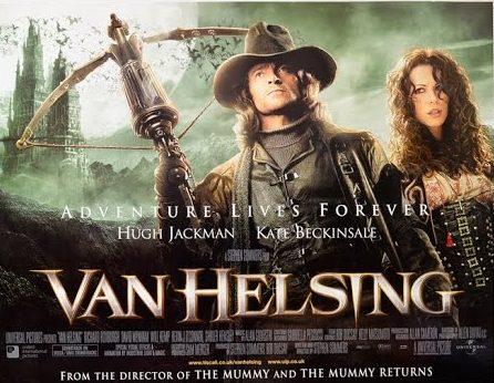 póster película steampunk van helsing