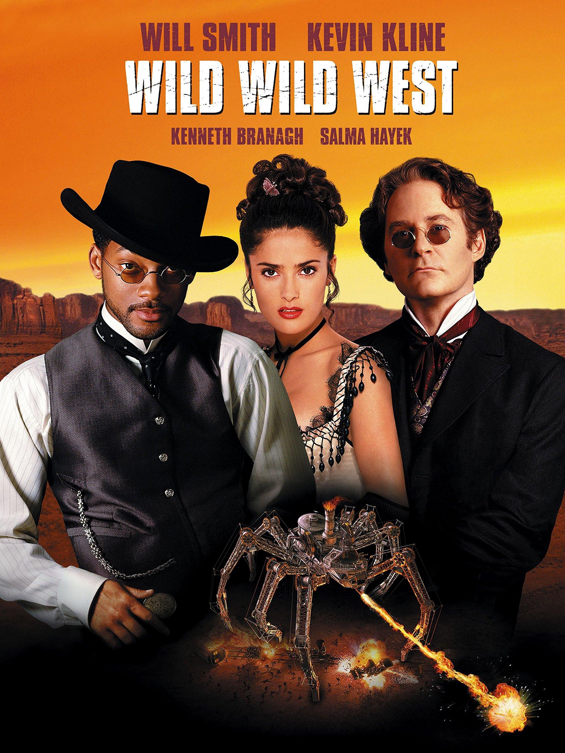 póster película steampunk wild wild west
