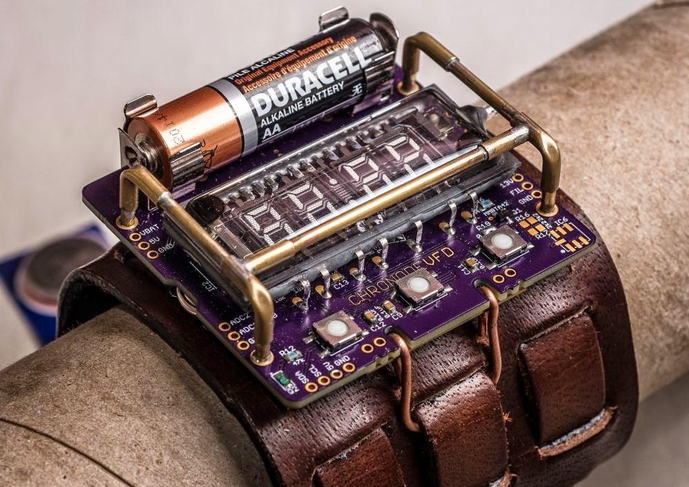 reloj de pulsera steampunk temática