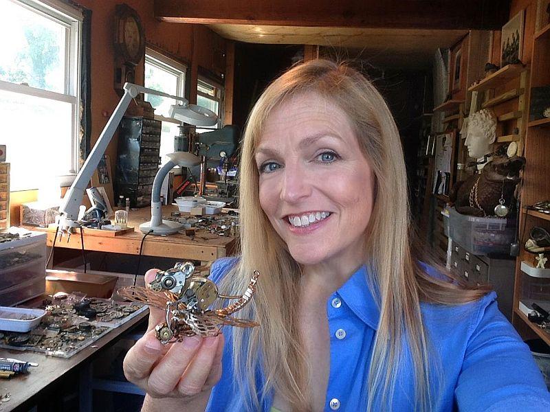relojes steampunk artista susan beatrice