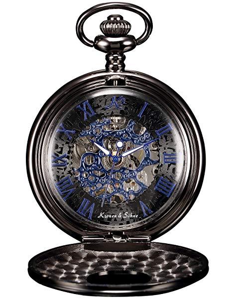 comprar amazon reloj de bolsillo steampunk
