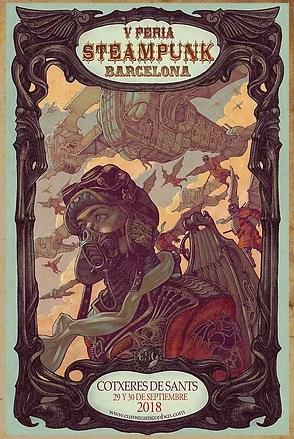 V edición steampunk barcelona