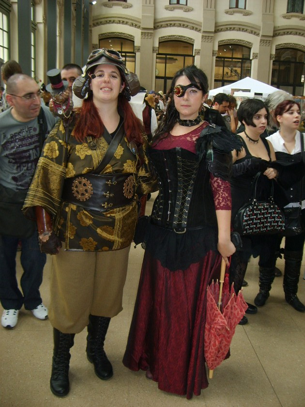steampunk barcelona vestimentas