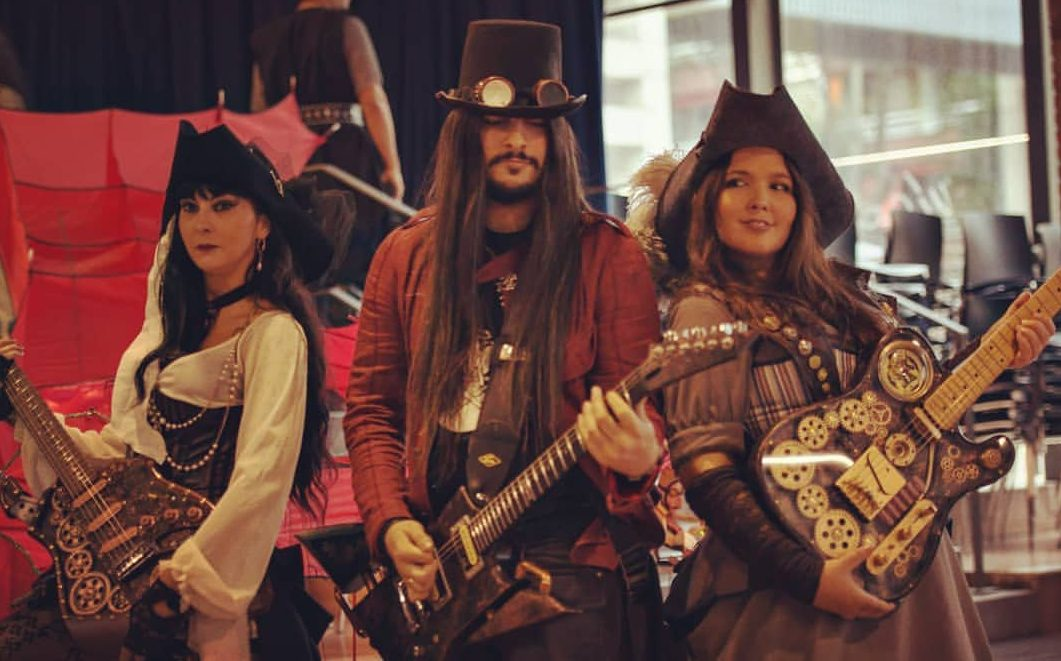 músicos steampunk barcelona