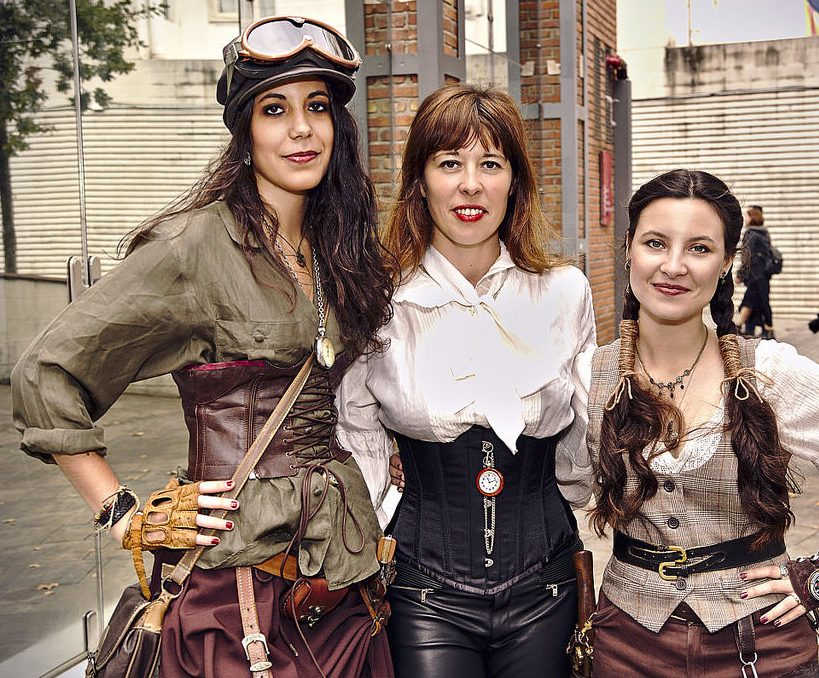 vestimenta mujeres steampunk barcelona