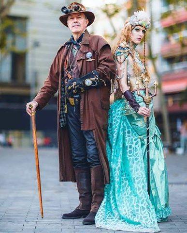 trajes originales steampunk barcelona