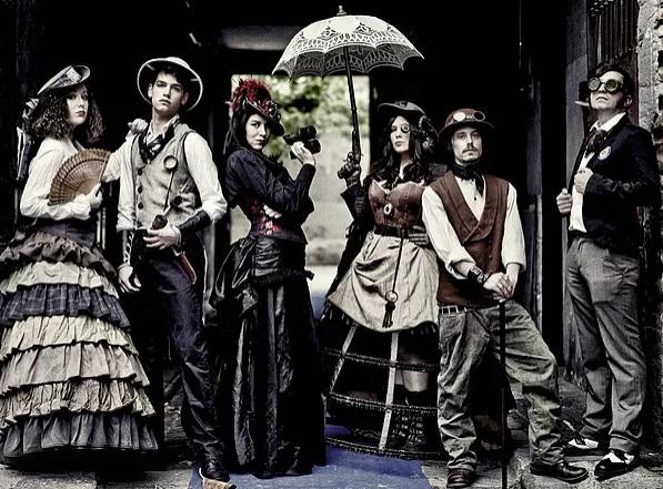 steampunk barcelona asistentes