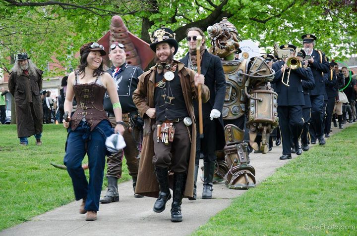 amantes del steampunk city festival