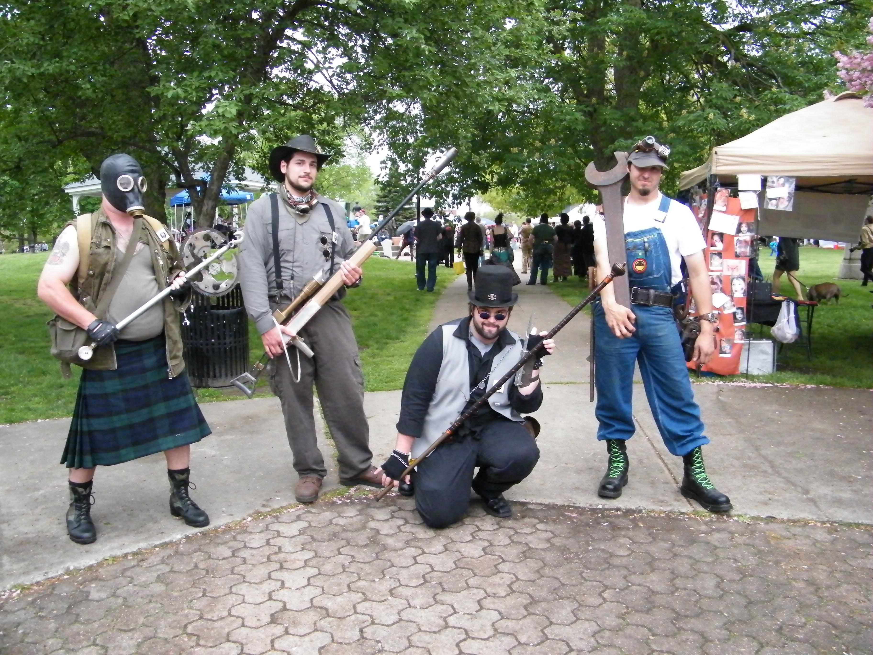 arte en el steampunk city festival