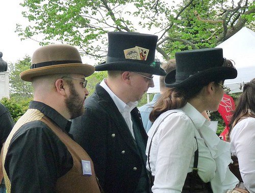 steampunk city festival asistentes