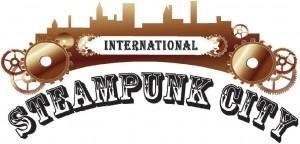 logo oficial del steampunk city festival
