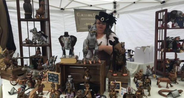 stand steampunk city festival