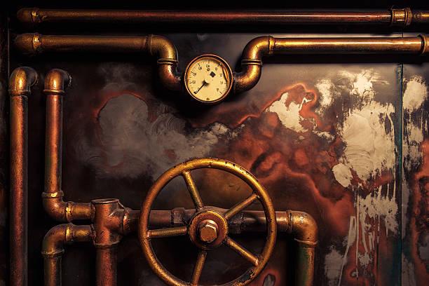 diseño vintage del steampunk