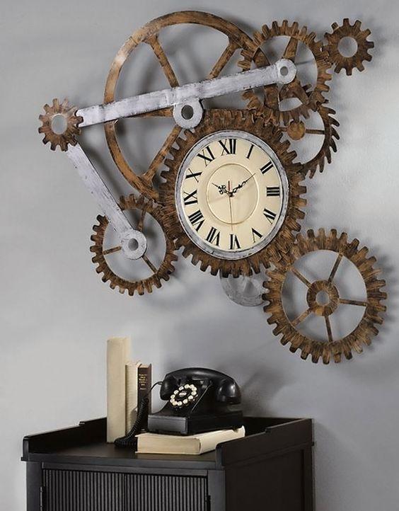 decoración steampunk