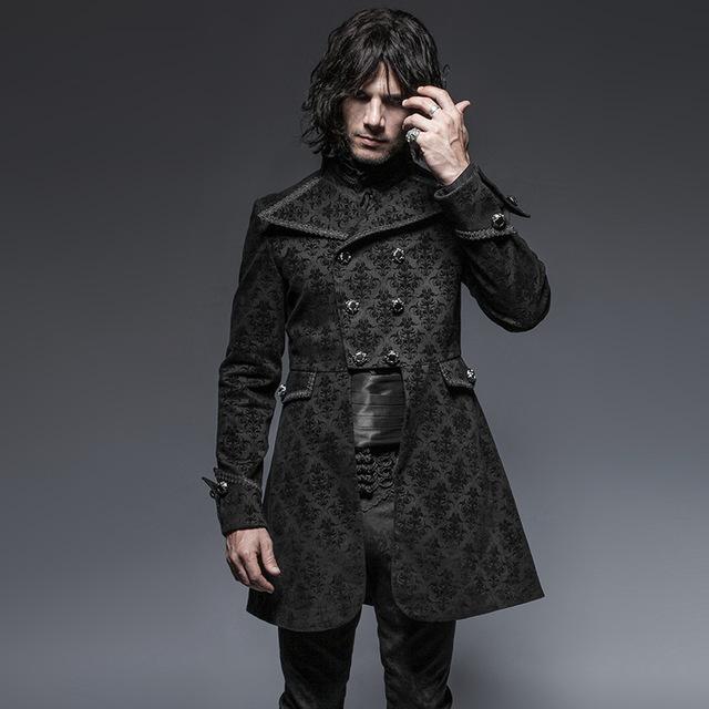steampunk hombre estilo gótico