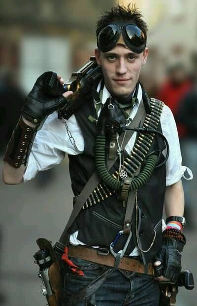 traje steampunk hombre estilo