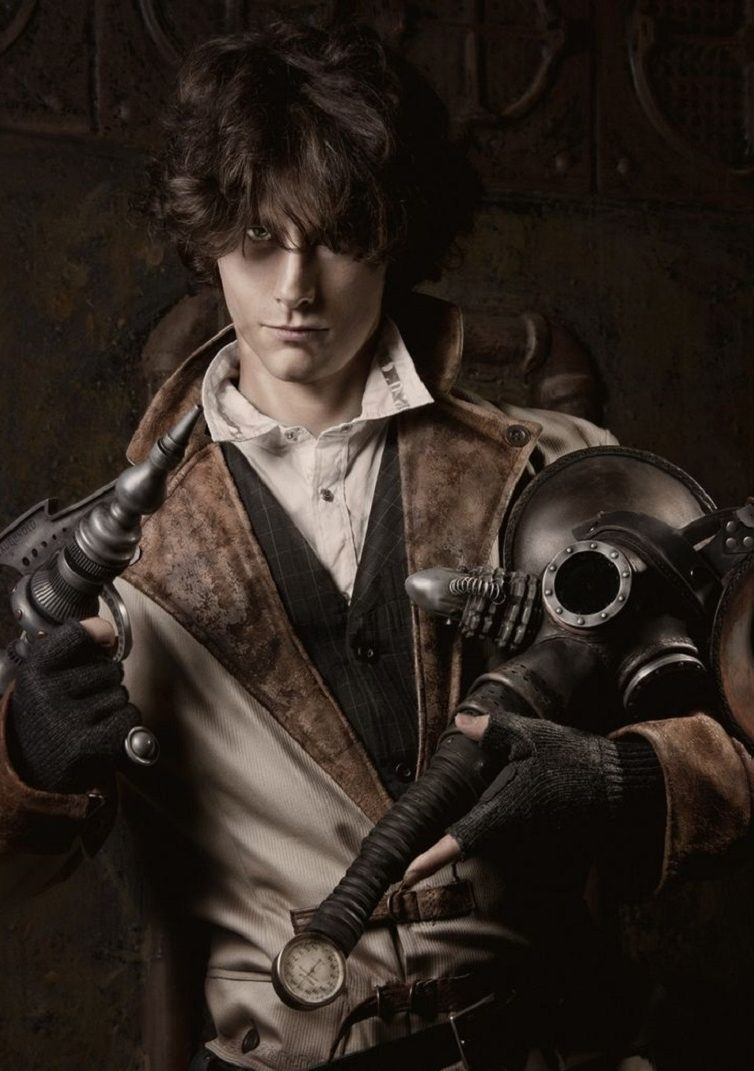 steampunk hombre estilo steampunk