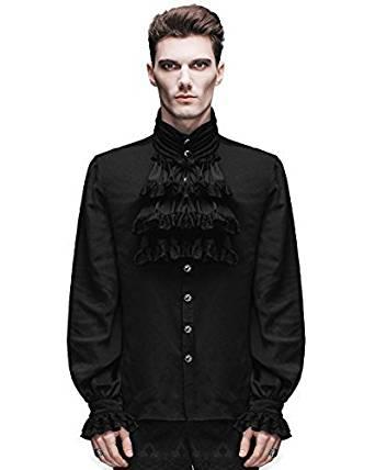 comprar en amazon camisa estilo steampunk hombre