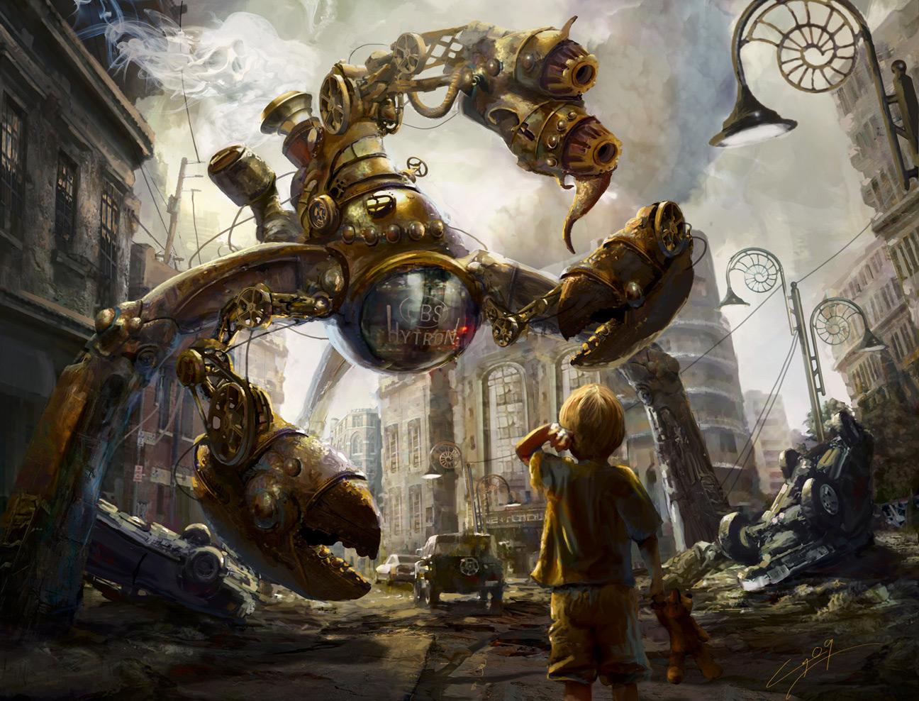 el mundo del steampunk