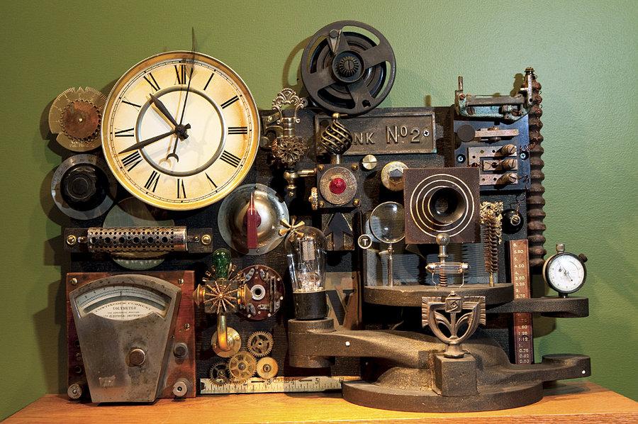 inventos al estilo steampunk