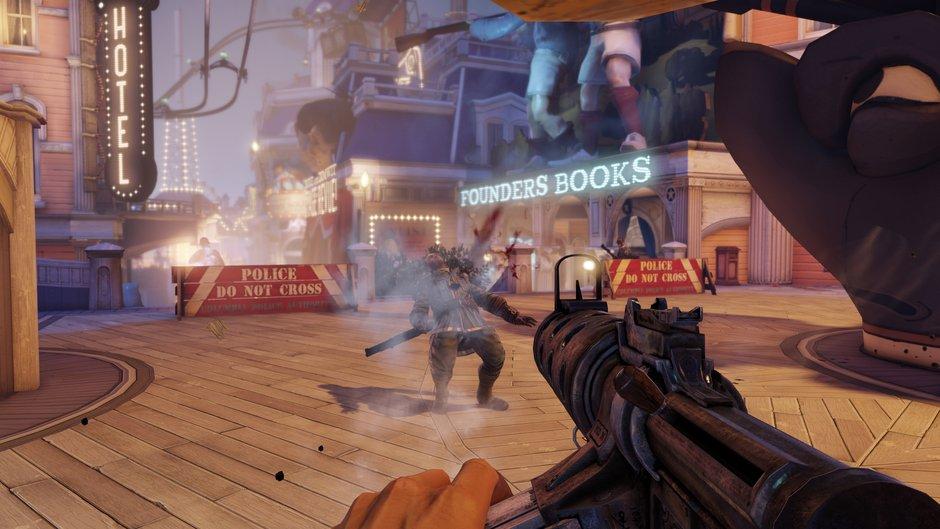 ambientación steampunk juegos bioshock infinite