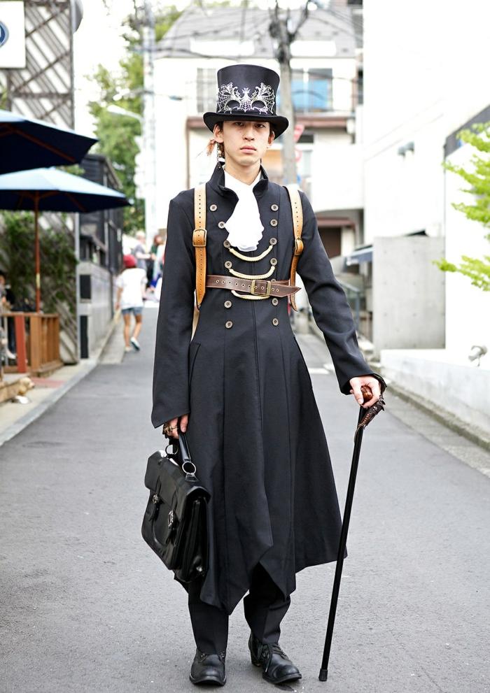 atuendo steampunk para caballeros
