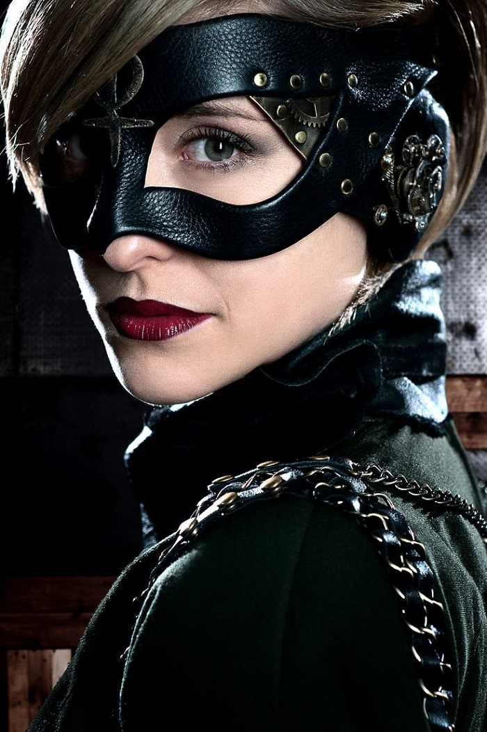 mascara steampunk mujer