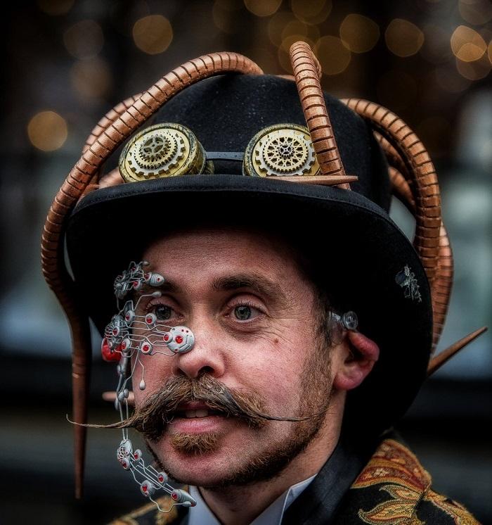 accesorios únicos moda steampunk hombre
