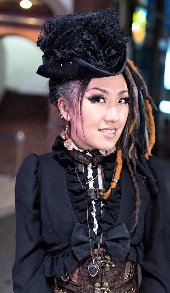 sencillo traje steampunk para mujer