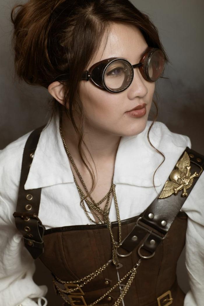 moda mujer steampunk