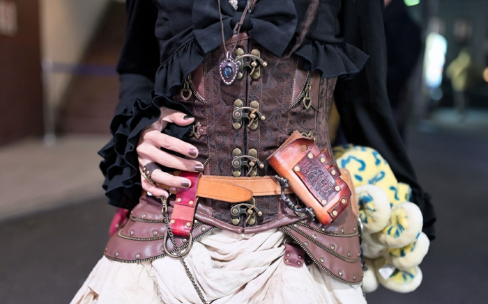 moda steampunk para damas